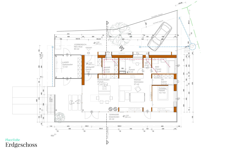 Bauplan Grundriss