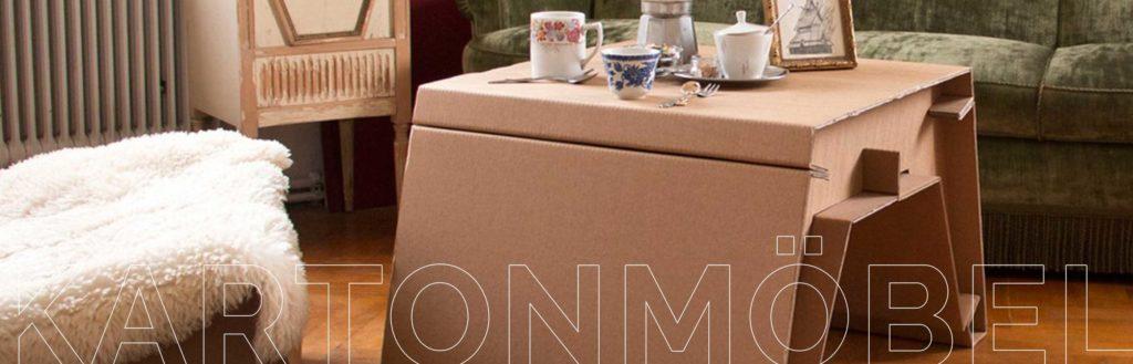 Kartonmöbel – Ja das gibt es