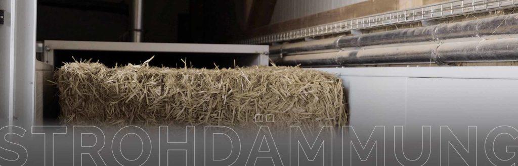 Stroh für deinen Wandaufbau
