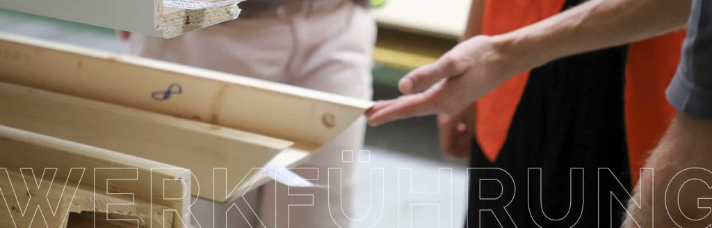 Ein Blick hinter die Kulissen. Türenproduktion bei DANA Türen