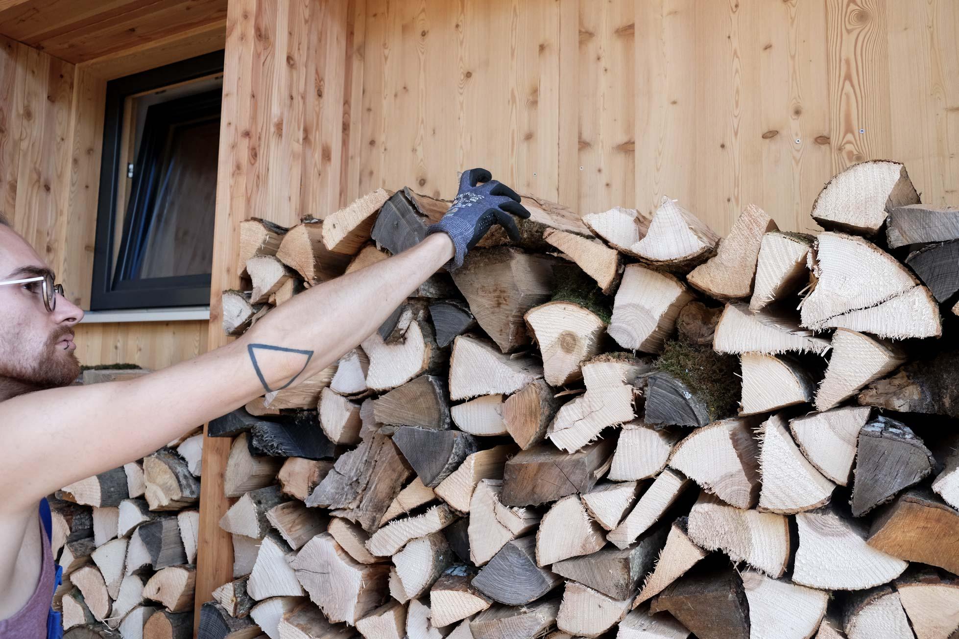 Holz schlichten