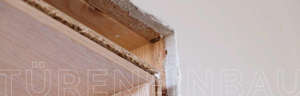 Versteckte Schadstoffe im Innenausbau. Das Verbauen der Innentüren ohne Schadstoffe.