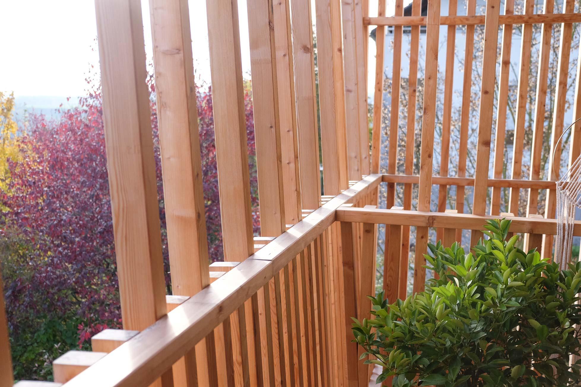 terrassenbereich für begrünung