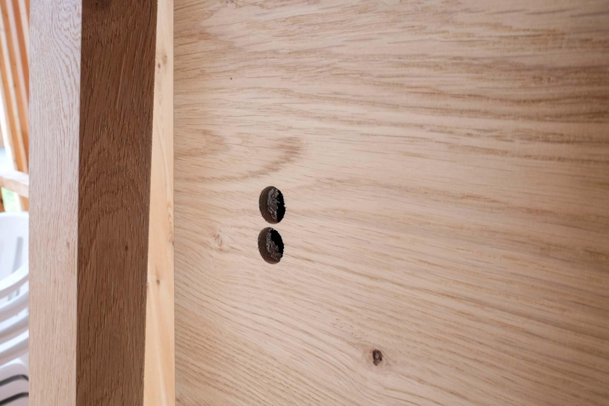 Tür ohne Griff