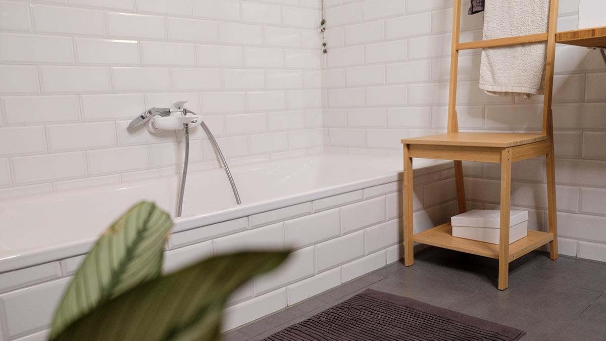 Ein ökologisches Badezimmer