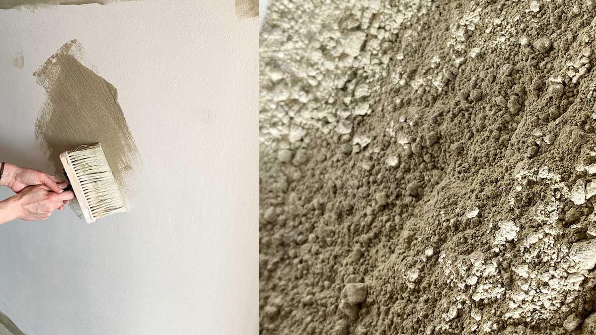 Lehmfarbe für die Wände
