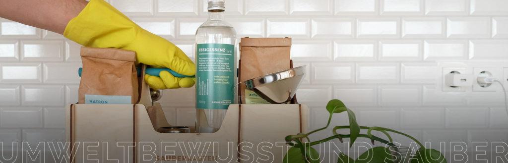 Umweltfreundlich sauber machen!