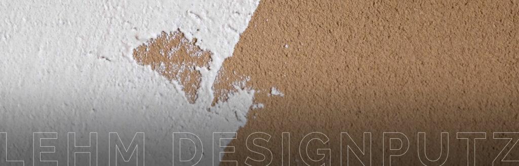 Lehm-Designputz für ein gesundes Arbeitsklima in unserer Workbox.
