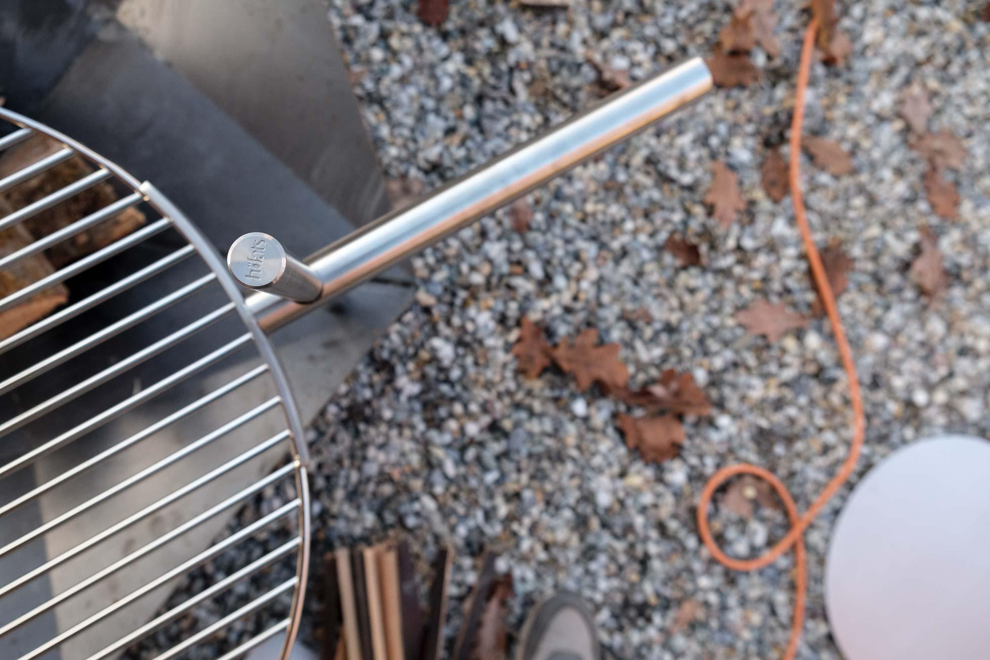 Edelstahl und Corten-Stahl