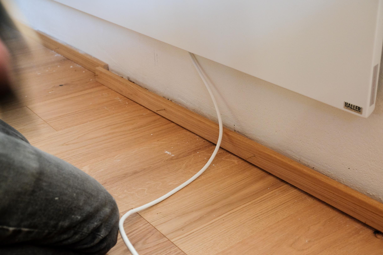 Kabel verstecken Hausbautipps