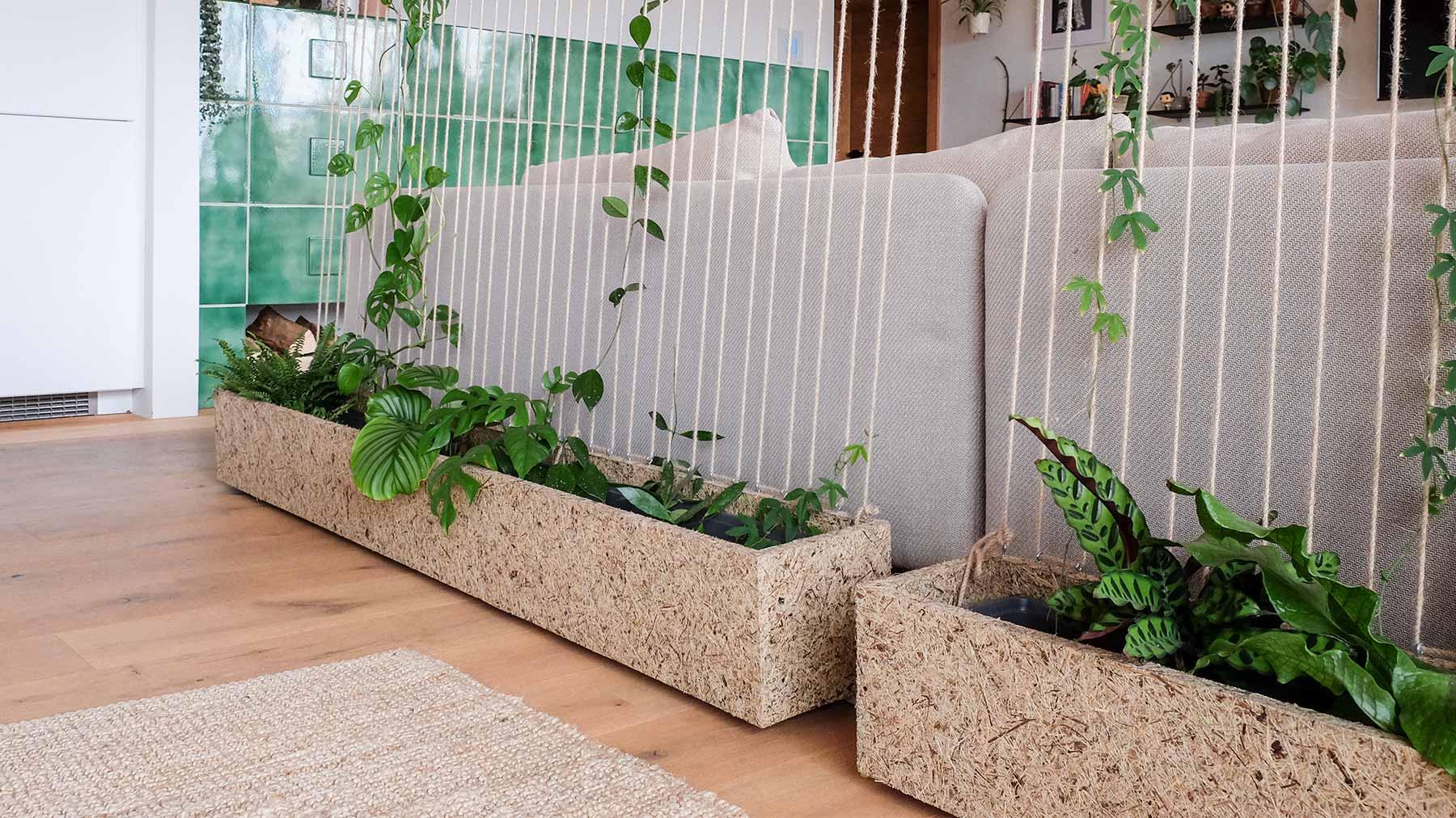 Raumtrenner Plantwall
