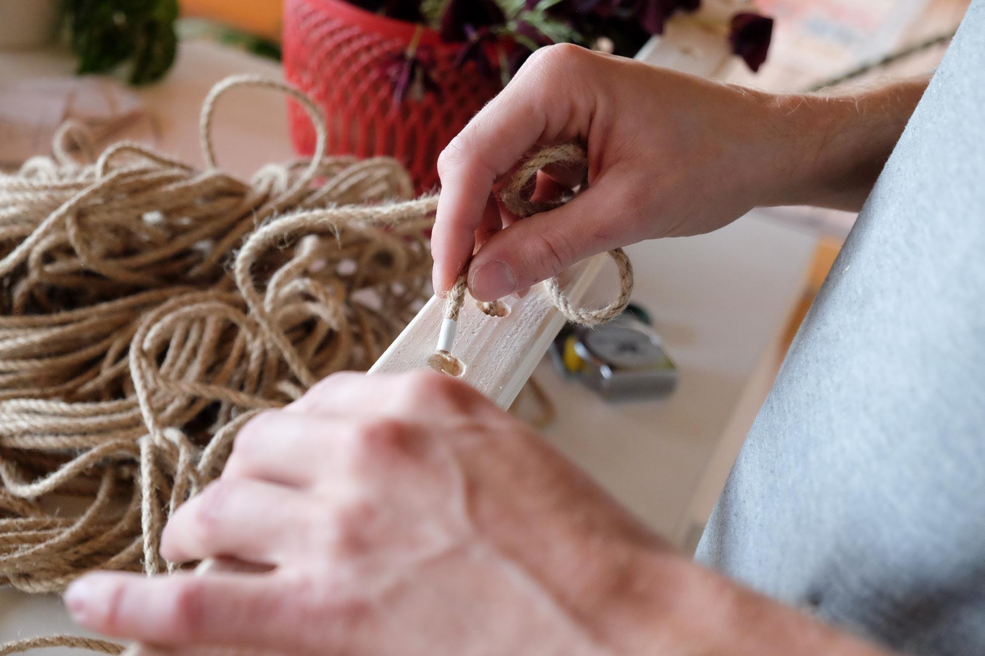 Konstruktion Decke vorbereiten